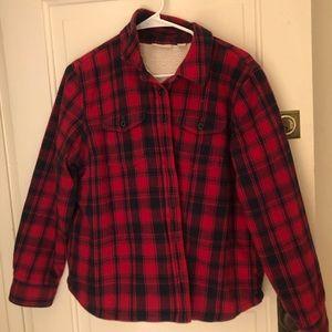 Women's LL Bean Insulated Flannel